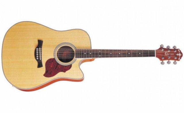 Гитары Crafter, которые приобрели мировую известность